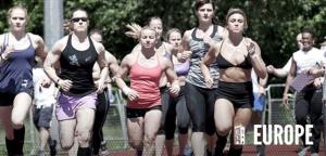 Europe women running
